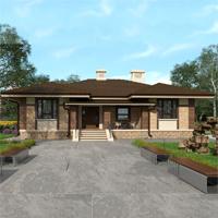 проект дома 84-33 общ. площадь 274,75 м2