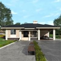 проект дома 84-31 общ. площадь 229,05 м2