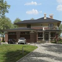 проект дома 93-06 общ. площадь 428,80 м2