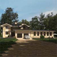 проект дома 84-64 общ. площадь 547,60 м2