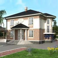 проект дома 93-07 общ. площадь 221,70 м2