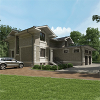 проект дома 84-63 общ. площадь 509,10 м2