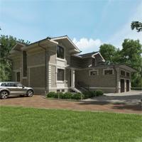 проект дома 84-73 общ. площадь 562,00 м2