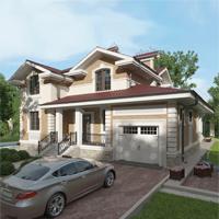 проект дома 84-51 общ. площадь 334,20 м2
