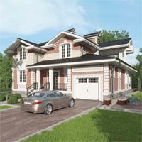 проект дома 84-79 общ. площадь 334,85 м2