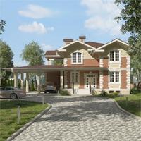 проект дома 84-57 общ. площадь 307,70 м2