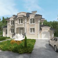 проект дома 93-13 общ. площадь 381,45 м2