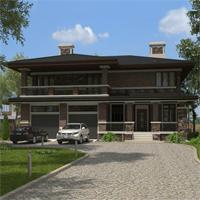 проект дома 93-22 общ. площадь 391,60 м2