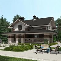 проект дома 93-09 общ. площадь 337,30 м2