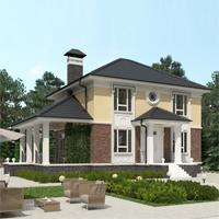 проект дома 93-24 общ. площадь 251,20 м2