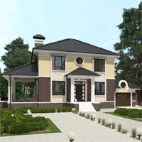 проект дома 93-25 общ. площадь 278,25 м2