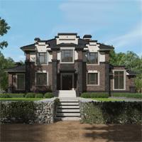 проект дома 93-68 общ. площадь 380,95 м2