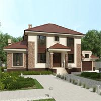 проект дома 93-26 общ. площадь 327,00 м2