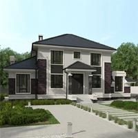 проект дома 93-27 общ. площадь 324,90 м2