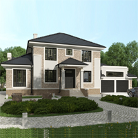 проект дома 93-29 общ. площадь 347,95 м2
