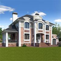 проект дома 93-11 общ. площадь 339,75 м2