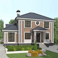 проект дома 93-30 общ. площадь 298,80 м2