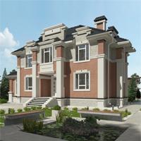 проект дома 93-69 общ. площадь 350,40 м2