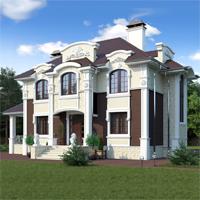 проект дома 93-12 общ. площадь 308,90 м2