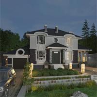 проект дома 93-44 общ. площадь 236,30 м2