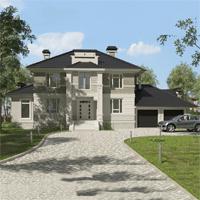 проект дома 93-71 общ. площадь 430,90 м2