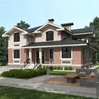 проект дома 84-53 общ. площадь 357,25 м2