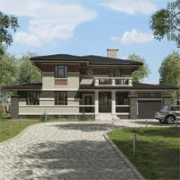 проект дома 93-31 общ. площадь 467,00 м2