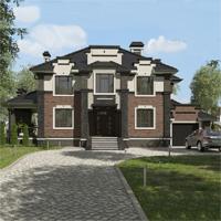 проект дома 93-61 общ. площадь 339,75 м2