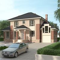 проект дома 93-47 общ. площадь 351,95 м2