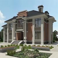 проект дома 93-89 общ. площадь 350,40 м2