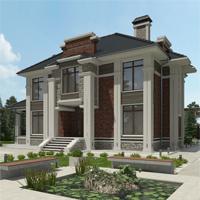 проект дома 93-82 общ. площадь 308,90 м2