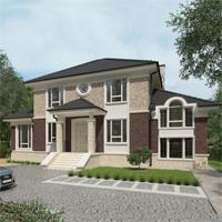 проект дома 93-49 общ. площадь 351,40 м2