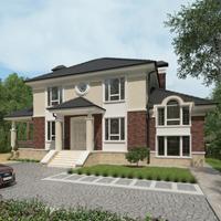 проект дома 93-50 общ. площадь 303,55 м2