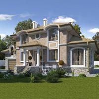 проект дома 93-40 общ. площадь 276,40 м2