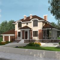 проект дома 93-41 общ. площадь 255,15 м2