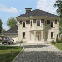 проект дома 96-10 общ. площадь 382,00 м2