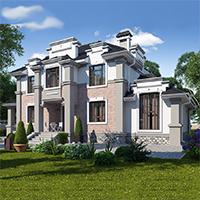 проект дома 93-67 общ. площадь 340,20 м2