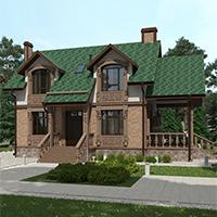 проект дома 96-42 общ. площадь 213,10 м2