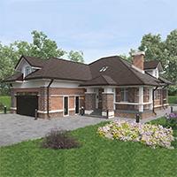 проект дома 96-61 общ. площадь 546,60 м2