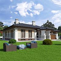проект дома 90-12 общ. площадь 215,85 м2