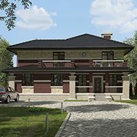 проект дома 96-91 общ. площадь 368,90 м2