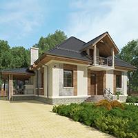 проект дома 96-70 общ. площадь 272,65 м2