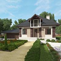 проект дома 96-74 общ. площадь 320,25 м2