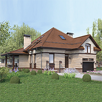 проект дома 96-75 общ. площадь 269,95 м2