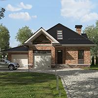 проект дома 96-72 общ. площадь 290,60 м2