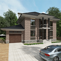 проект дома 96-24 общ. площадь 352,15 м2