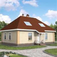 Каталог проекты домов из пеноблоков проект дома 50-55 общ. площадь 141 м2