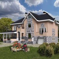 проект дома 50-43 общ. площадь 385,4м2
