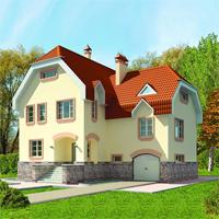 проект дома 50-39 общ. площадь 250,6м2