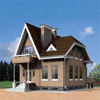 Каталог проекты домов из пеноблоков проект дома 50-90 общ. площадь 174,0м2
